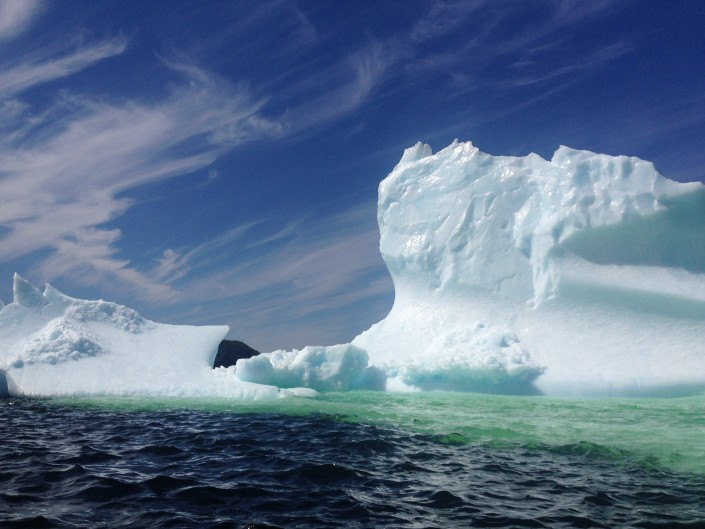 Ice berg in Tickle Cove, Newfoundland